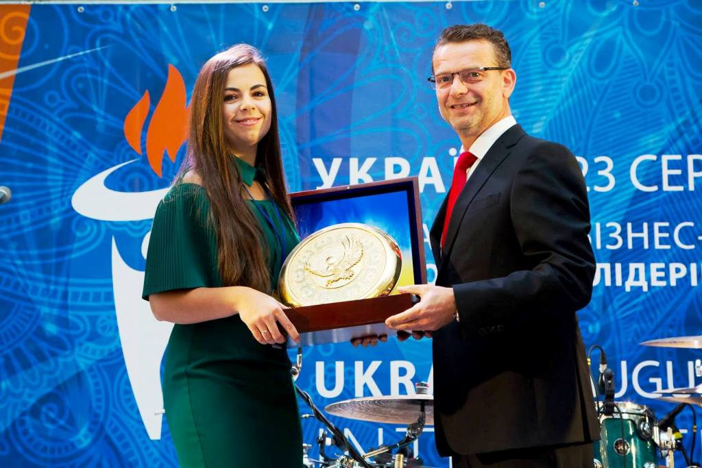"The company ""TY I PRAVO"" is awarded by the title ""LEADER OF THE BRANCH"""