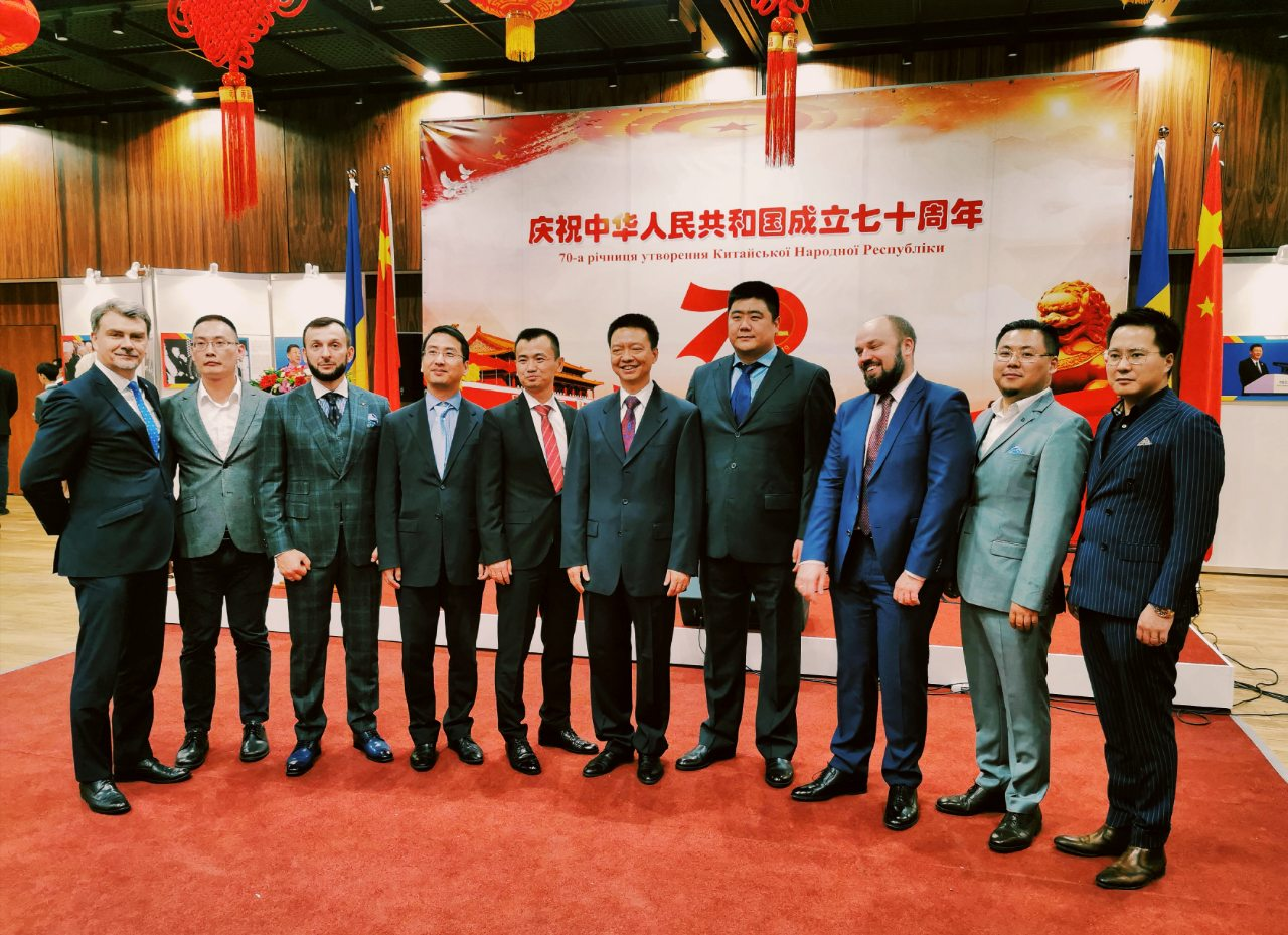 "The company ""Ty i pravo"" Lenivskyi Group"" took part in the celebration of the 70th anniversary of PRC"